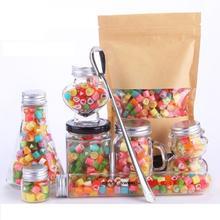 手工砍花糖水果切片糖创意喜糖250g送瓶子婚礼纪特供