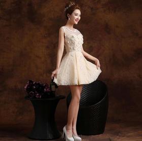 新娘结婚敬酒晚礼服