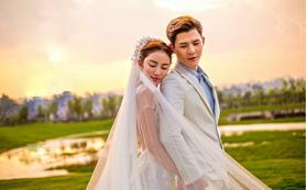【左岸摄影】唯美韩式系列婚纱照 最新外景