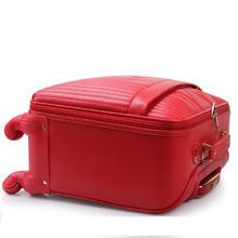 【桃之夭夭】婚庆红色拉杆箱结婚箱万向轮行李箱新娘陪嫁旅行箱