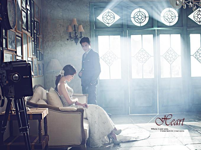 【纯色摄影】欧式复古内景,超奢华特惠婚纱照套系
