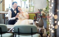 【纯色摄影】韩式纪实风 清新居家系列婚纱照套系