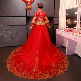 古代秀禾婚纱礼服