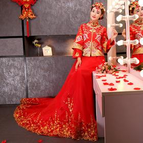 古代结婚婚纱礼服