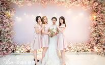 韩式鲜花婚礼布置 《C&W》北湖花园太子酒轩