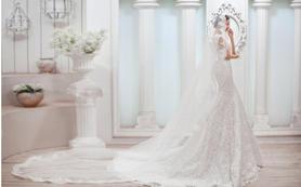 【艾迪新娘】婚纱三件套|曼妙