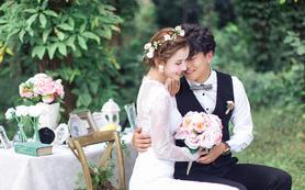 【氧气摄影】甜蜜婚礼现场特色森林系(人气爆款)