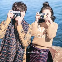 尊享冬季旅拍总监摄影化妆团队定制版【纯色摄影】