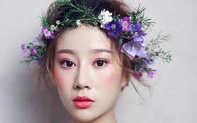 半程新娘跟妆【晚宴造型+敬洒造型、含一個伴娘妆】