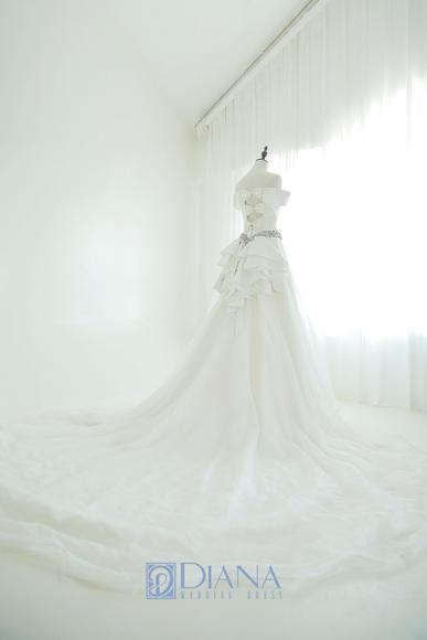 【帝安娜婚纱】瑧致唯美婚纱系列