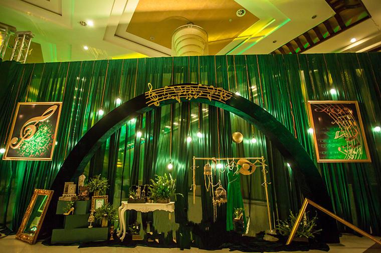 绿色婚礼布置——绿色狂想曲