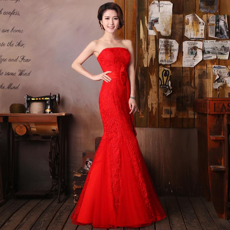 微信红婚纱头像