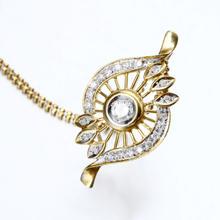 【爱换名品汇】18K钻石吊坠一体链