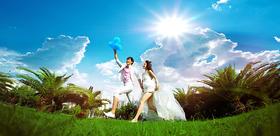 米兰尊爵上海公园系列 ——清新婚纱照