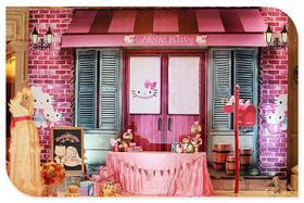 创意粉色主题婚礼 HELLOkitty,猫