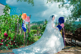 陕北农村户外婚礼