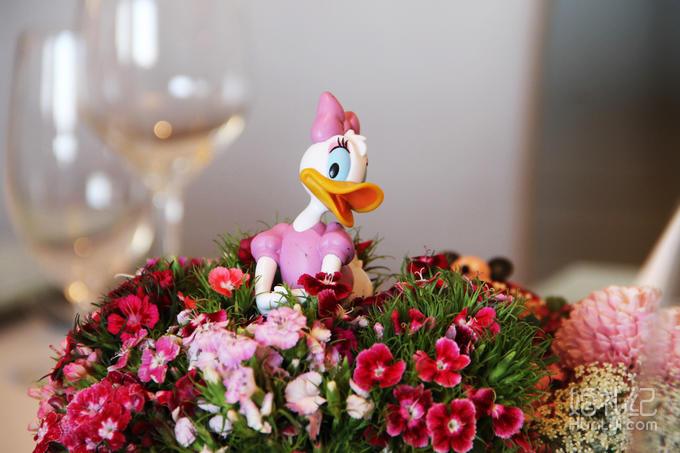 米老鼠主题宝宝宴 星级酒店宝宝宴