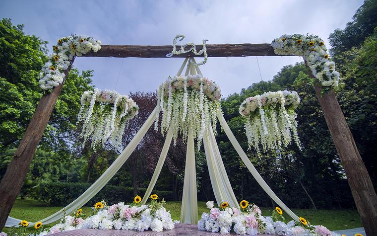 [四季清新童话婚礼定制]花之向阳