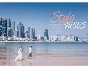 巴黎新娘—<浪漫海边>唯美婚纱照系列