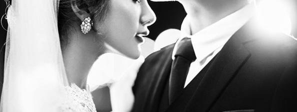 巴黎新娘—<黎夕愫梦>夜景婚纱照系列