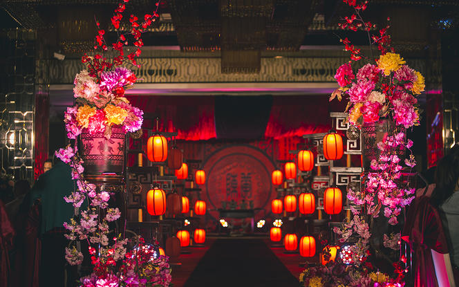 【大行令】汉服主题华美大气汉式婚礼—盛世华章