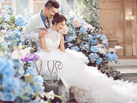唯美系列婚纱照《梦》