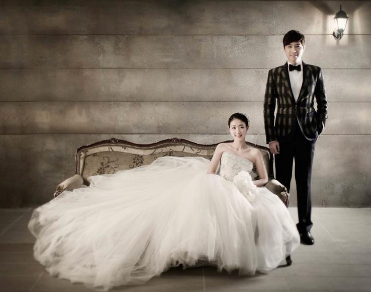 【赫拉宫邸】唯美韩式婚纱照,只想许你一份永恒的爱