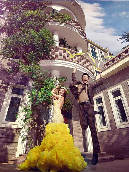 《金海湾别墅》欧式婚纱照