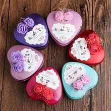 欧式喜糖盒子批发成品婚庆糖果盒结婚礼品盒心形马口铁盒婚礼糖盒