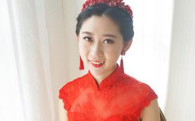 石家庄周边县市跟妆欣薇婚纱资深化妆师
