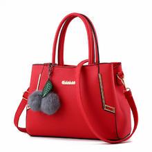 红色包包2016新款女士手提包女包新娘包结婚包时尚单肩包
