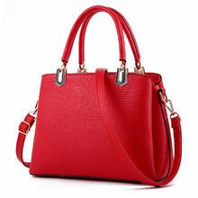红色包包2016新款时尚手提包结婚包单肩包斜挎包新娘包大红色