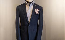 【赏定制】80%羊毛料西装(婚礼商务两用)4件套