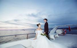 开业大礼《爱情海游艇》系列-安全出海的VIP拍摄