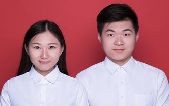 【ONCE】清新纪实结婚登记证件照