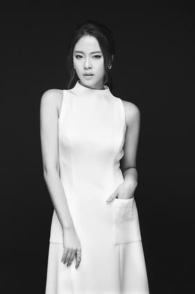 韩式黑白风