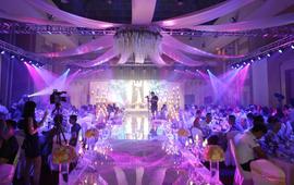 2017年全新婚礼会场LED大屏幕一条龙