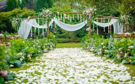 【瑾一婚礼】清新草坪婚礼——爱的惊喜