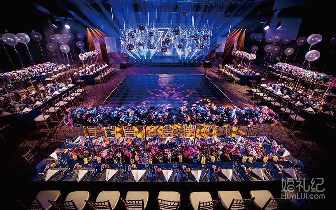 蓝紫色欧式婚礼套餐