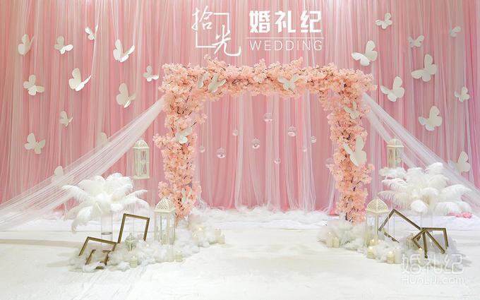 不包含  摄像师 专家  布置 迎宾区 签到台支架 签到台唯美韩式粉色