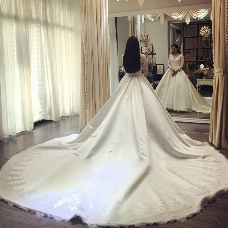 微信头像拖尾婚纱