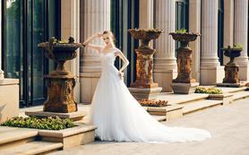 2017年新款气质A版小托婚纱高级定制新娘必备
