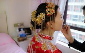 【木子新娘造型定制】元旦限时特惠首席档全天跟妆