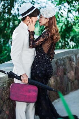 三亚-【波西米亚】—欧式婚纱摄影《情浓时刻》