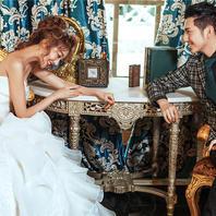 【纯色摄影】听说冬天和婚纱照更配 欧式低调奢内景