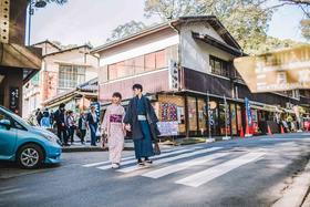 日本蜜月旅拍街景婚纱照