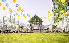 草坪婚礼 60-100人小型婚礼首选包含四大金刚