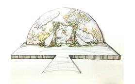 【雲端印象婚礼定制】甜蜜粉嫩的森系《梦画》