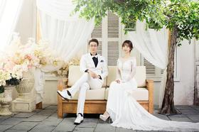 台北莎罗-【唐顿庄园】韩式婚纱照