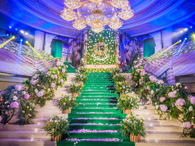【花海婚礼】空中花园· 梦幻森林